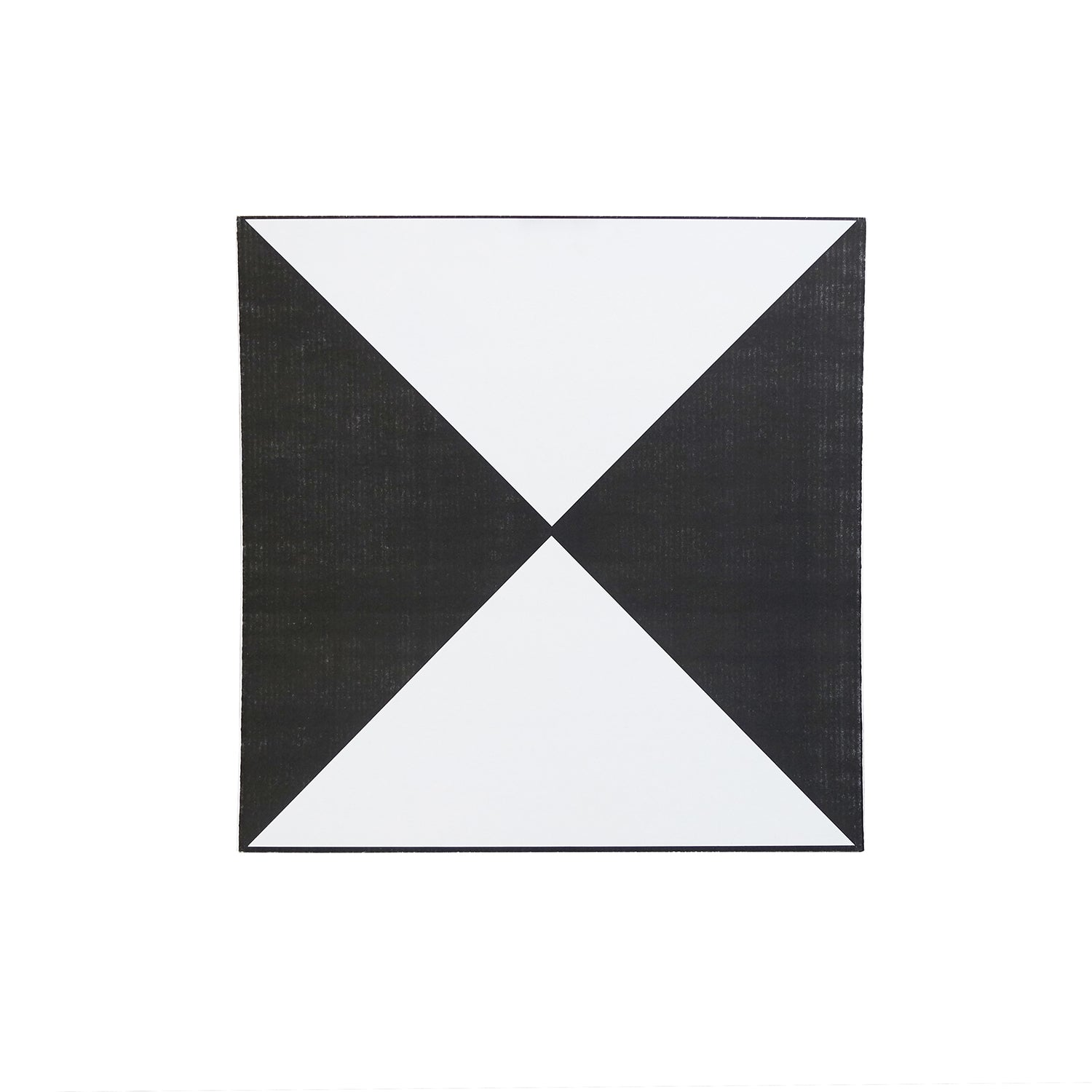 "36"" Black/White Hourglass Aerial Target -UAV & Drone Accessories- eGPS Solutions Inc."