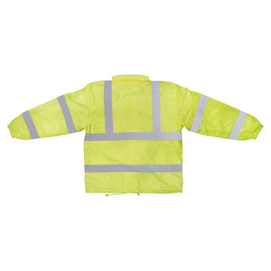 3A Safety Groups Rainwear Safety Jacket - Lime -Safety- eGPS Solutions Inc.