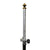8 ft Aluminum and Carbon Fiber Prism Pole w/ Dual Graduations and Adapter -Rods, Poles & Accessories- eGPS Solutions Inc.