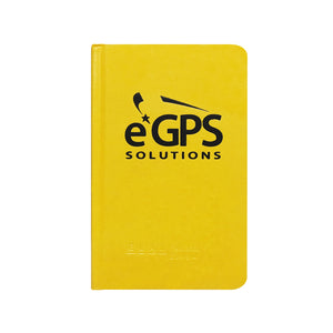Elan E64-8x4 Field Book, Yellow Cover with eGPS Logo -Field Books- eGPS Solutions Inc.