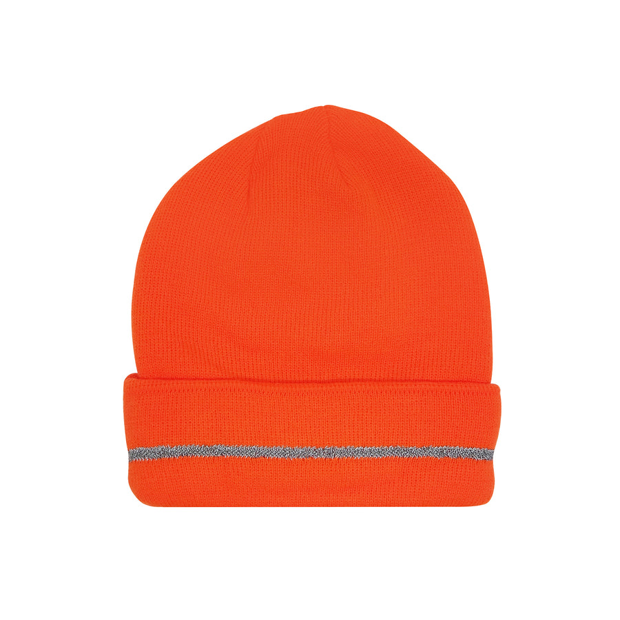 Hi-Viz Insulated Polyester Knit Cap with 3M Reflective Stripe -Safety- eGPS Solutions Inc.