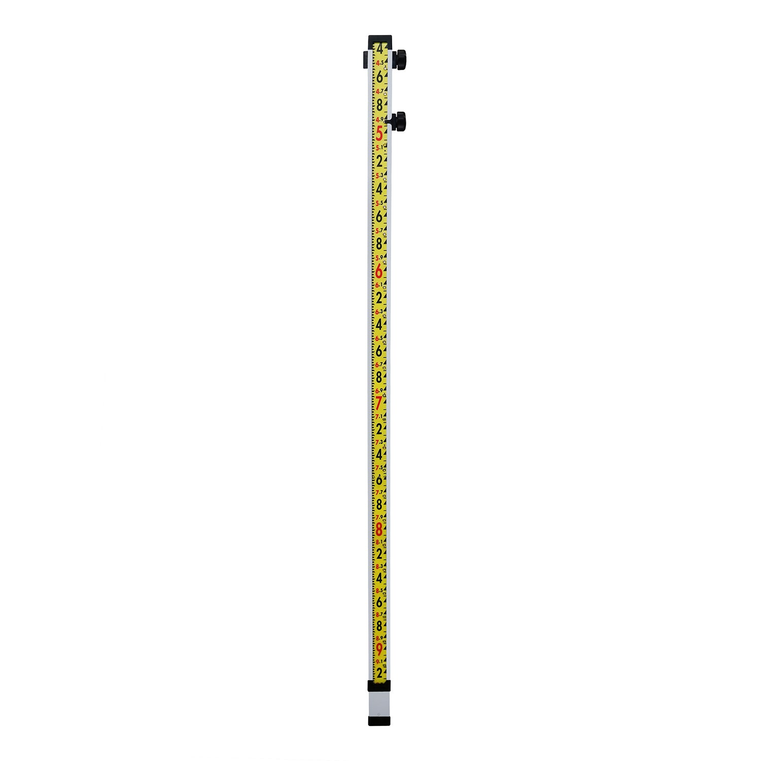 GeoMax 10 Ft Direct Elevation Optical Rod (Ft, 10ths, 100ths) -Rods, Poles & Accessories- eGPS Solutions Inc.