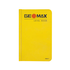 GeoMax Level Book -Field Books- eGPS Solutions Inc.