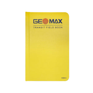 GeoMax Transit Field Book -Field Books- eGPS Solutions Inc.