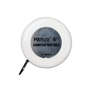 Keson 6' Diameter Tape (Inches, Ft) -Measurement Tools- eGPS Solutions Inc.