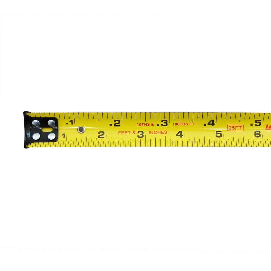 Lufkin 25' Engineer's Hi-Viz Orange Tape Measure (Inches/Ft/10ths/100ths) -Measurement Tools- eGPS Solutions Inc.