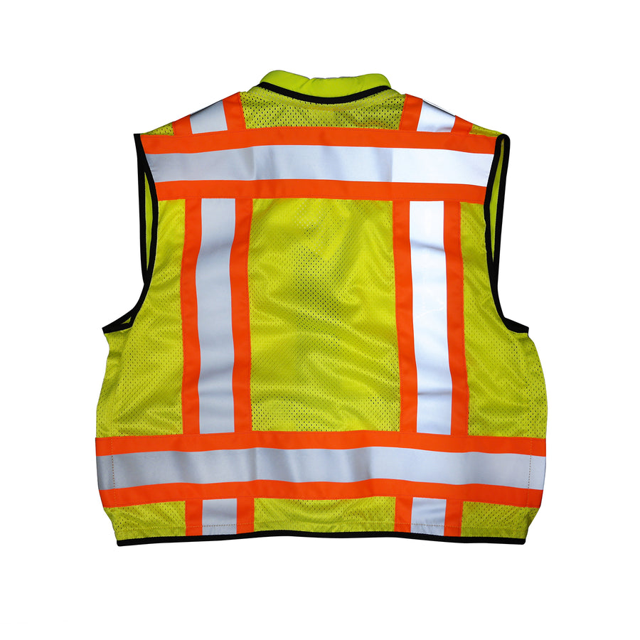 SECO Surveyor Safety Vest, ANSI Class 2 - Fluorescent Yellow -Safety- eGPS Solutions Inc.