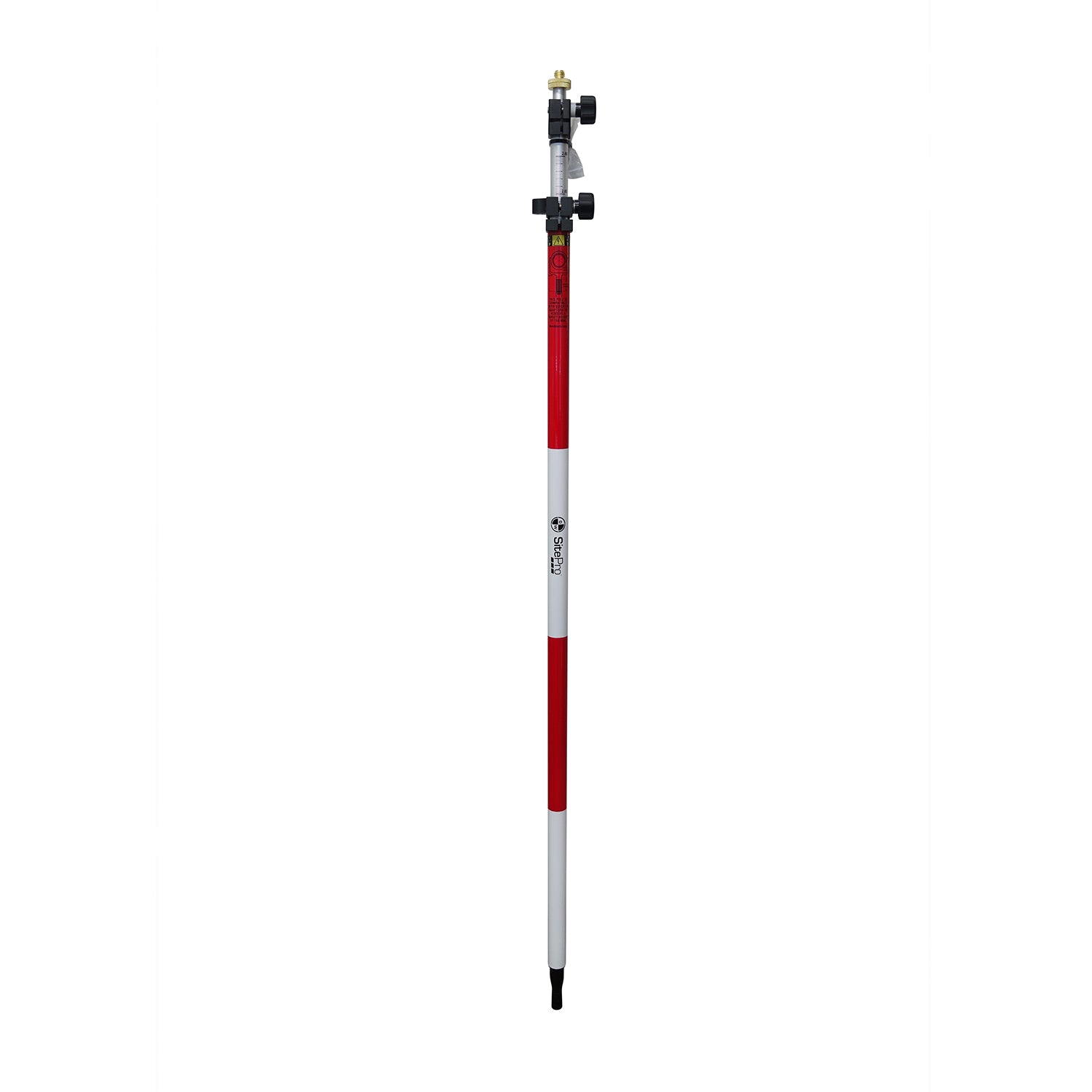 SitePro 12 ft Twist Lock Prism Pole (10ths, Metric) -Rods, Poles & Accessories- eGPS Solutions Inc.