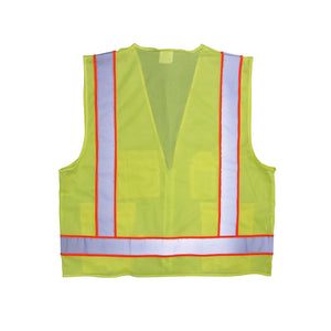 SitePro Lightweight Safety Vest, Class 2 - Lime -Safety- eGPS Solutions Inc.