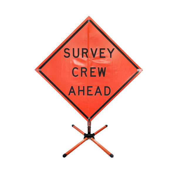 Auto Locators Of Texas >> Vinyl Safety Sign - Survey Crew Ahead | eGPS Solutions Inc.