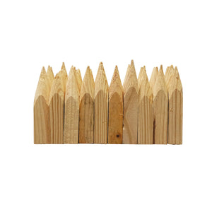 Wood Hubs - Pine, Pencil-Sharpened -Wood Stakes and Hubs- eGPS Solutions Inc.