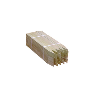 Wood Lathes - Hardwood (Bundle of 50) -Wood Stakes and Hubs- eGPS Solutions Inc.