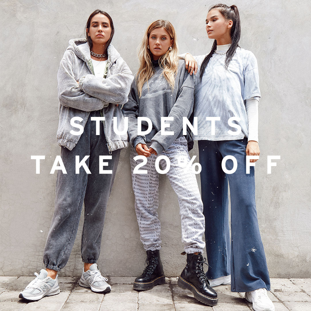 students take 20% off
