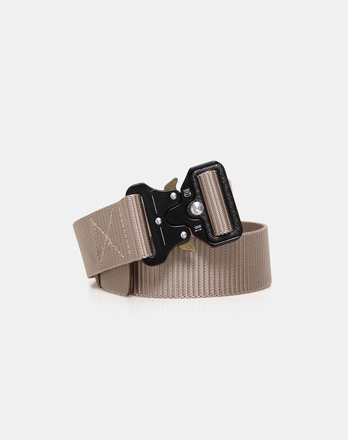 Nylon Belt in Khaki by Motel