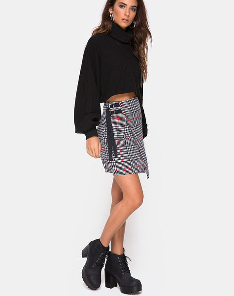 Acosh Mini Skirt in Big Charles by Motel