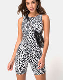 Acro Unitard in Dalmatian by Motel