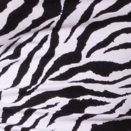 Ardilla Bodycon Dress in 90's Zebra