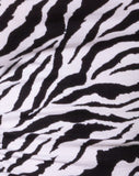 Ardilla Bodycon Dress in 90's Zebra by Motel