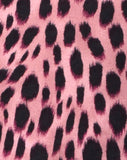 Baja Bodice in Pink Cheetah by Motel