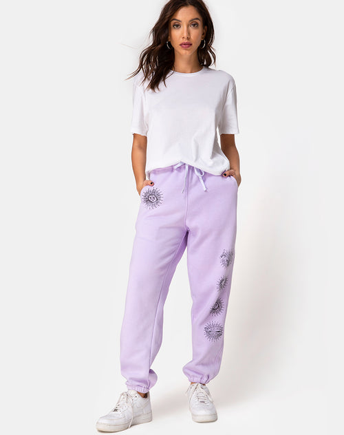Basta Jogger in Lilac 'All Of My Bones' by Motel