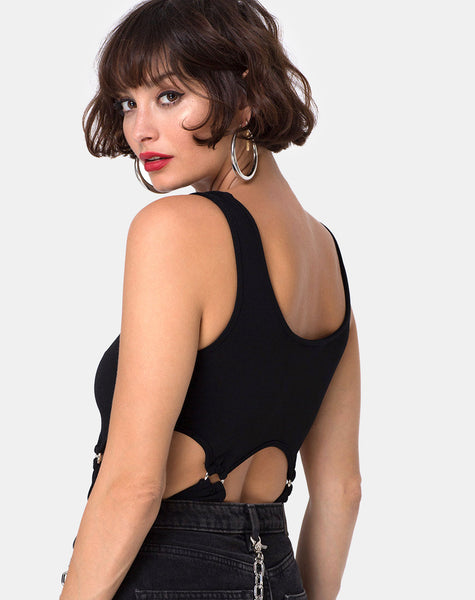 Belaz Bodice in Black by Motel
