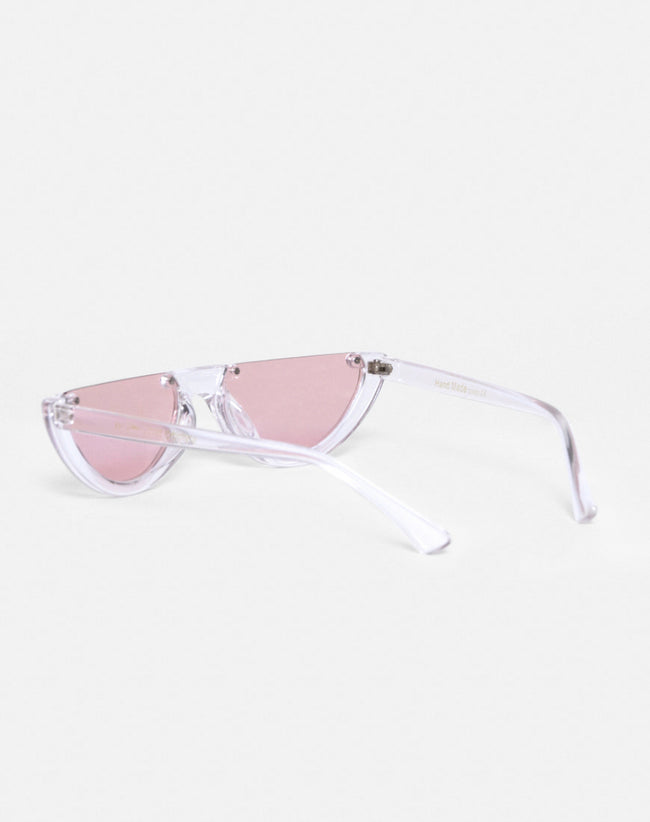Bella Sunglasses in Clear by Motel