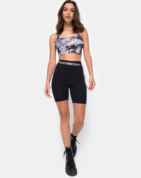 Bliss Crop Top in Cherub Mesh by Motel