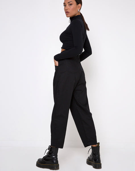 Bogo Pants in Black by Motel