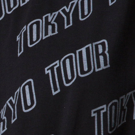 Botec Oversize Tee in Tokyo Tour Black by Motel