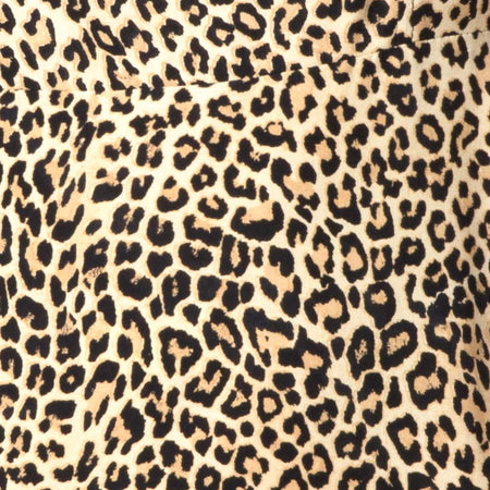 Boyasly Slip Dress in Rar Leopard Brown by Motel