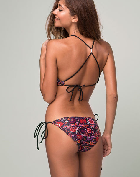 Calio Bikini Top in Gypsy Heart by Motel