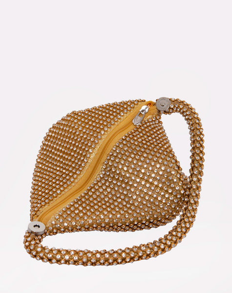 Chloe Purse in Gold by Motel