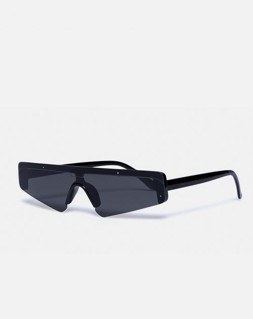 Cyber Sunglasses in Black by Motel