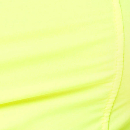 Cycle Short in Neon Yellow