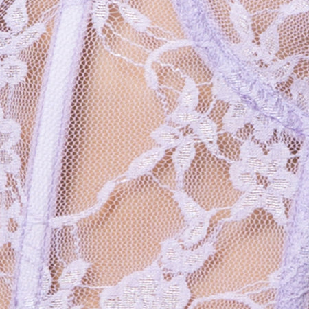 Cyrilla Bralet in Daisy Lace Lilac by Motel