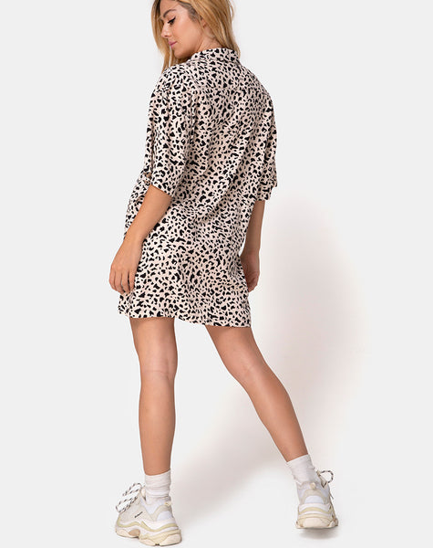 Fresia Mini Dress in Wild Thing by Motel