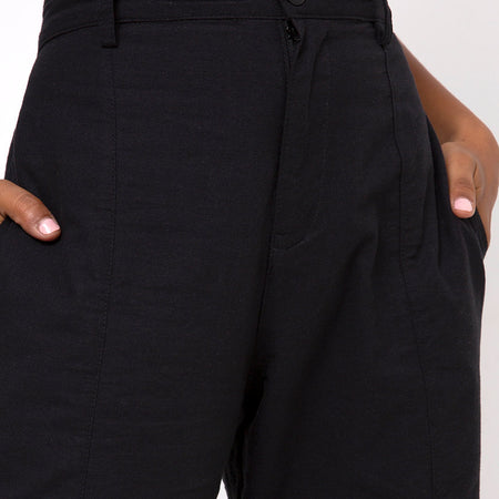 Gesta Trouser in Black by Motel