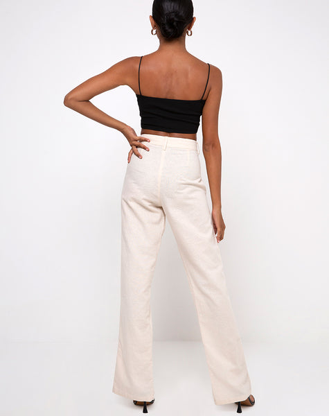 Gesta Trouser in Ecru by Motel