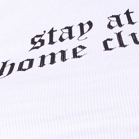 "Givas Top in White ""Stay At Home Club"" by Motel"