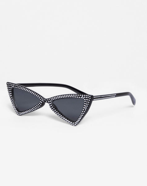 Gwen Sunglasses in Black Diamond by Motel
