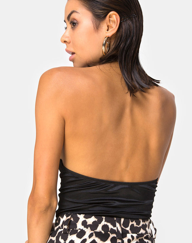 Gyal Sleeveless Bodice in Black By Motel