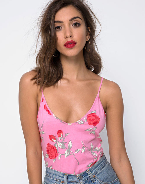 Tahiti Bodice in Candy Rose by Motel