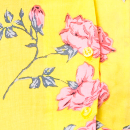 Hawaiian Shirt in Candy Rose Yellow
