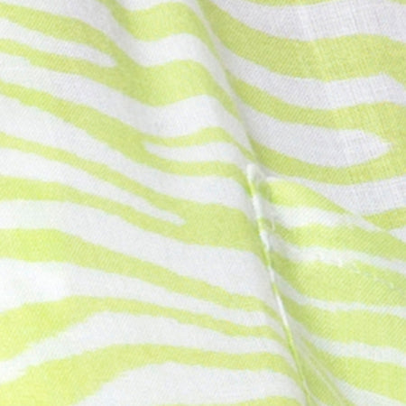Mini Broomy Skirt in Classic Zebra Lime by Motel