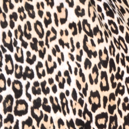 Hawaiian Shirt in Rar Leopard Brown