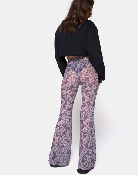 Herlom Trouser in Dollar Bill by Motel