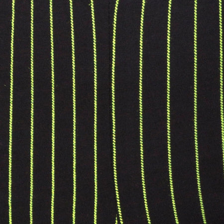 Cycle Short in Neon Pinstripe