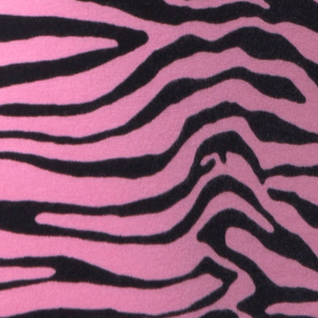 Jezabel Dress in Zip's Zebra Pink by Motel