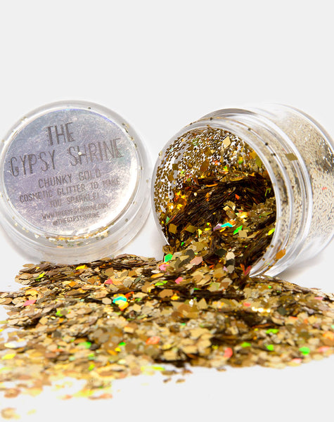 The Gypsy Shrine Gold Eclipse Glitter Pot