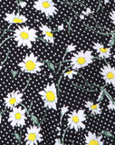 Jiro Short in Polka Daisy Black by Motel